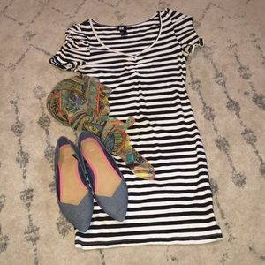 H&M bodycon tee shirt dress Size Small